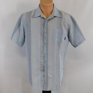 Billabong short sleeve button down shirt. M